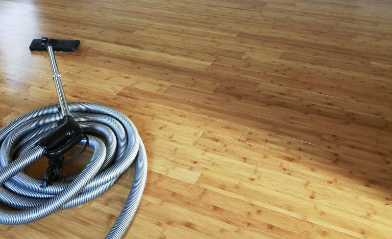 How to remove oil stains from unfinished wood floor