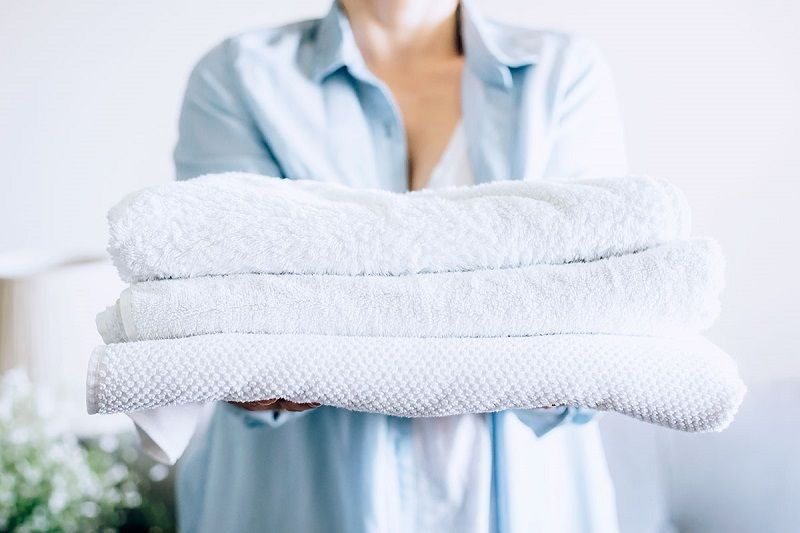 How to whiten towels