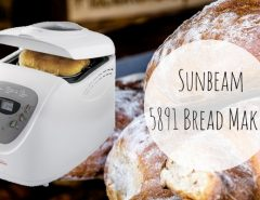 Breads with Sunbeam 5891!