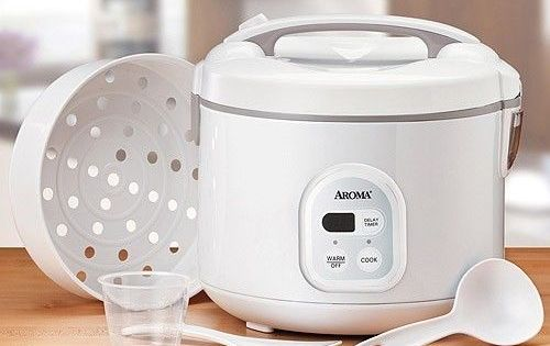 Aroma ARC-838TC 8-Cup Digital Rice Cooker & Food Steamer