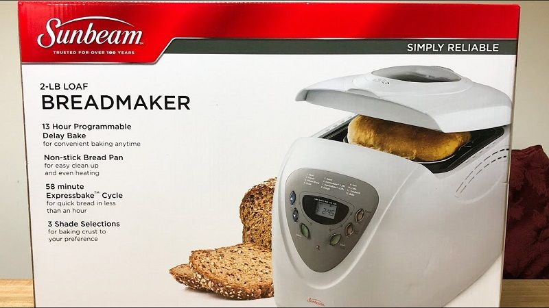 Breads with Sunbeam 5891!