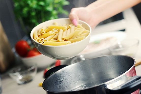 Types of Pasta Pot