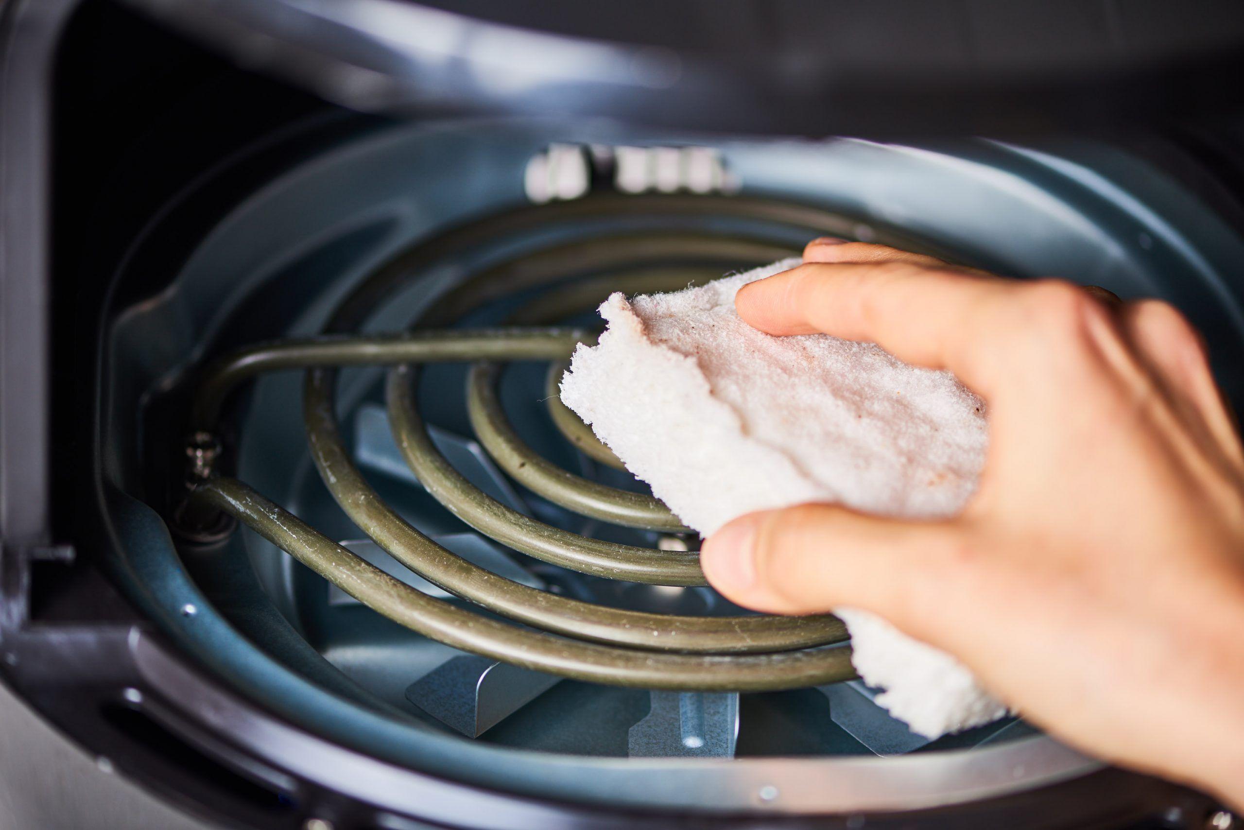 clean air fryer