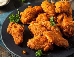 reheat fried chicken