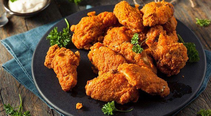 reheat fried chicken