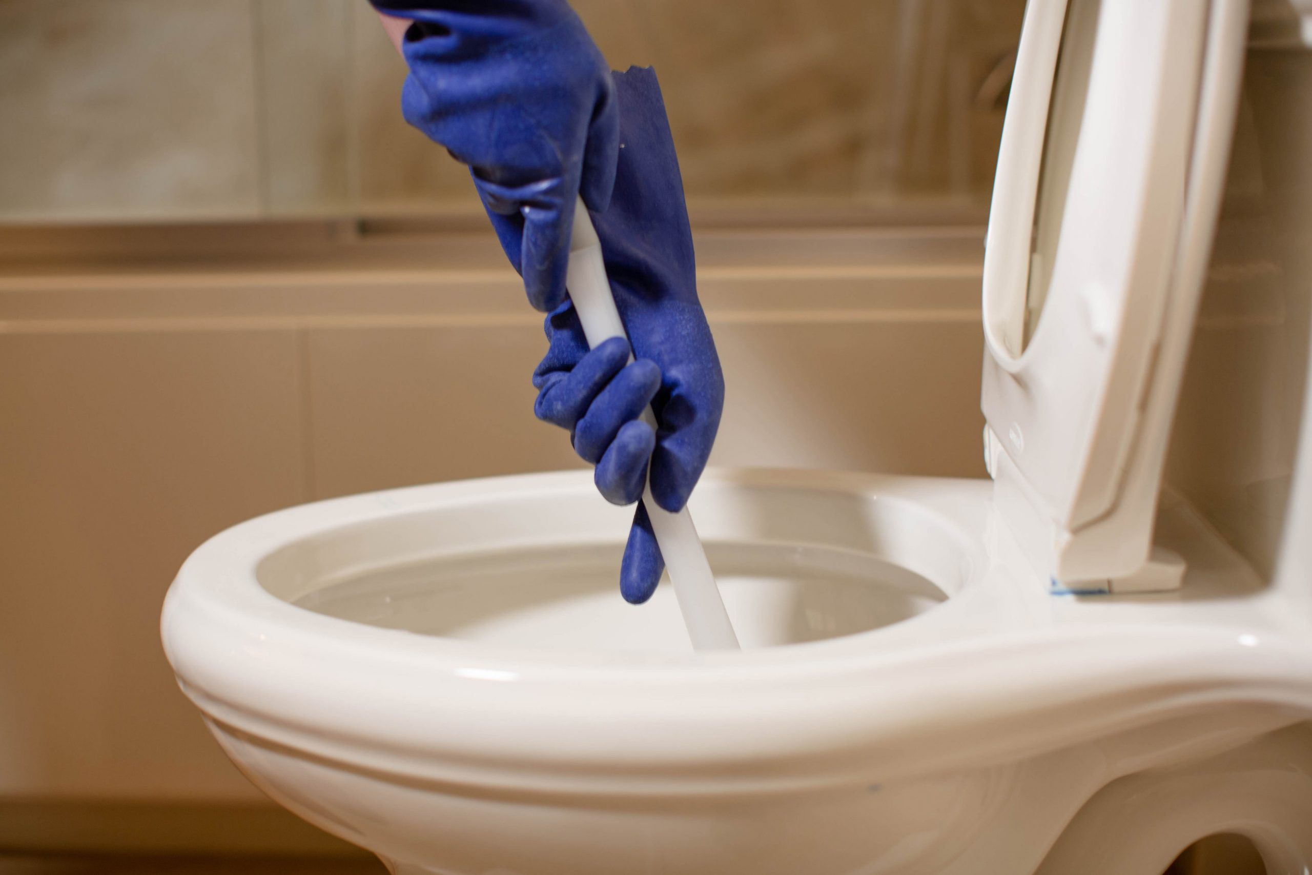 how to unclog a full toilet