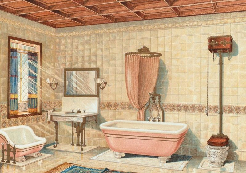 Bathroom cleaning first make a checklist of everything that is present