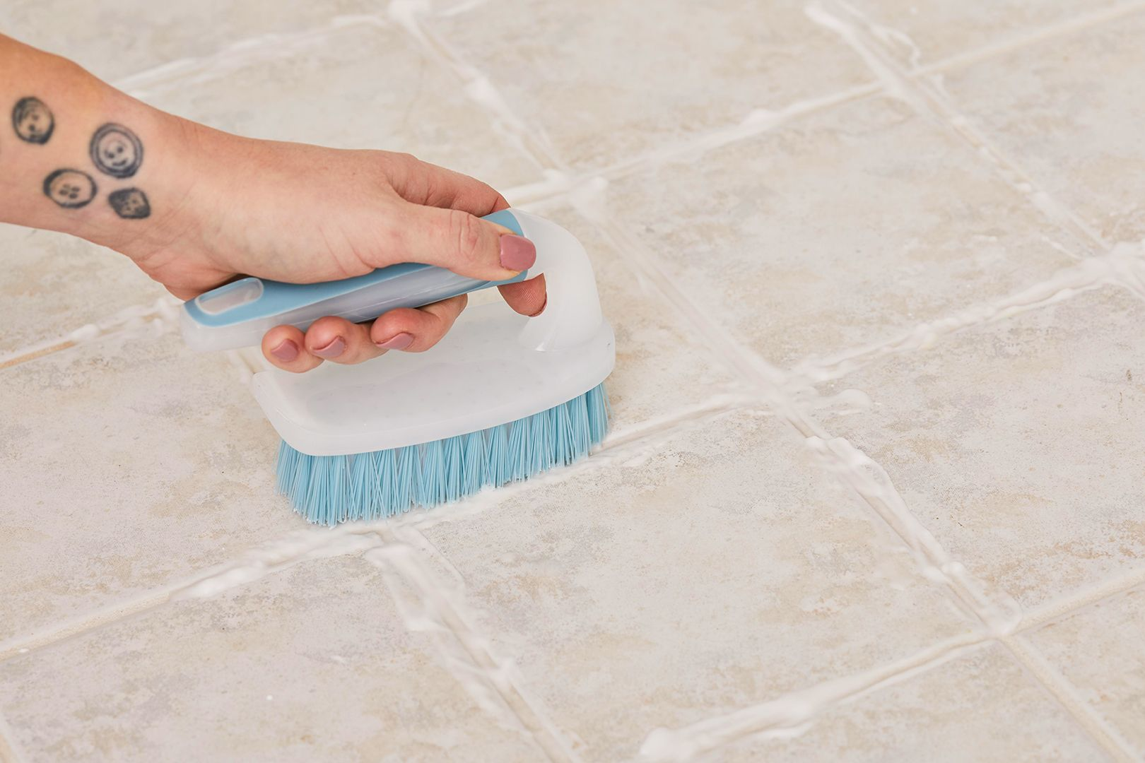 How to clean old tiles